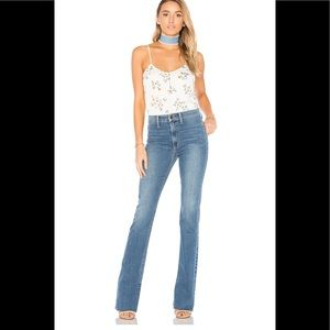 Joe's Jeans Micro Vent High Rise Flare Jeans Tall